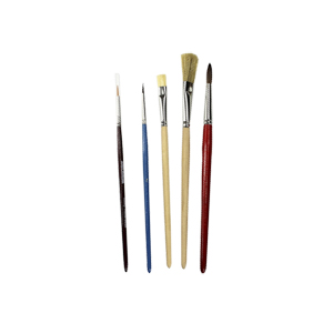 set-of-5-brushes-to-paint-in-molds