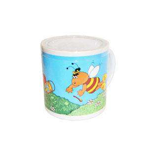 mug-with-painted-bee-350gr