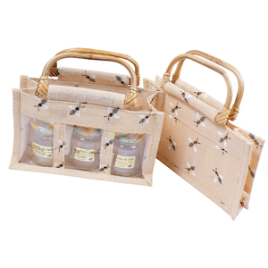 jute-basket-with-three-cans-of-1-4kg-bees
