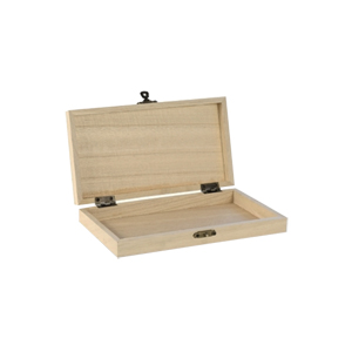Caja madera accesorios  cría reinas chica.