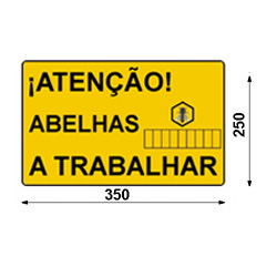 poster-attention-bees-working-portuguese
