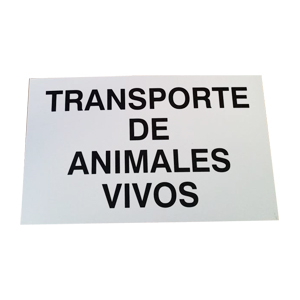 tin-sign-eco-transport-of-live-animals