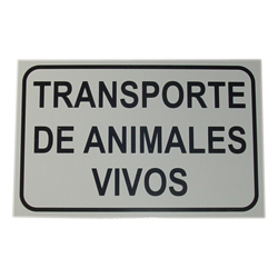 metal-sign-transport-of-live-animals