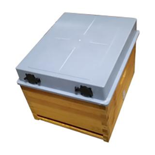 telhado-de-plastico-para-colmeia-de-madeira