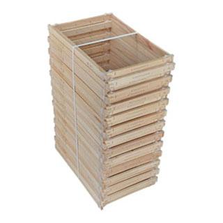 paquets-de-25-cadres-double-dadant-hoffman-en-plas