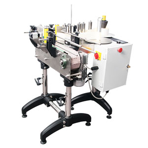 automatic-labeling-machine-with-conveyor-belt