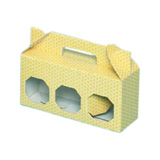 bote-en-carton-avec-hexagones-trois-botes-de-mi