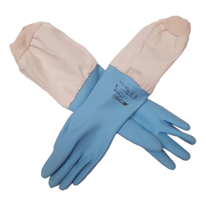 blue-latex-glove