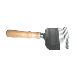 uncapping-comb-with-stainless-steel-wood-handle
