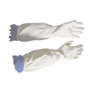 white-nitrile-beekeeping-glove-long-cuff