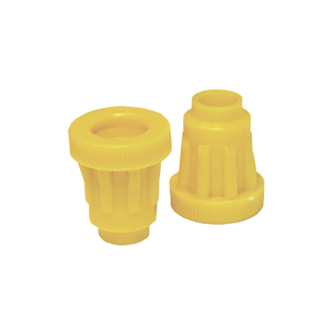 jenter-bag-yellow-fluted-dome-holder-100-units