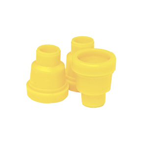jenter-bag-smooth-yellow-dome-holder-100-units