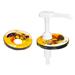 Aspirator-honey dispenser for can lid-u.
