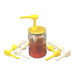 Lid for glass honey pot with hole 20mm-ud