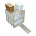 Bastidor madera ocho núcleos fecundación-Ochonuc.