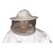 Bluson doble tejido blanco poliamida con careta.