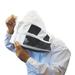 Camicetta con maschera da scherma di fascia alta.
