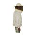 Bluson blanco tela doble careta redonda M2.