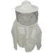 Blusa a mascherina tonda con tessuto a ventilazion