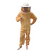 Yellow polyamide fabric diver with round mask.