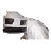 Máscara de esgrima integrada de ponta para mergulh