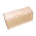 Scatola regalo in legno con tre lattine di miele d