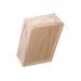 Caixa de presente de madeira com quatro potes de m