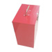 Rote Universal-Raucher-Transportbox.