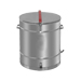 Edelstahl-Wachs-Extraktionskessel 120 Liter.