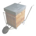 Carretilla de transporte colmenas-modelo 4.