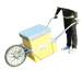 Carretilla de transporte colmenas-modelo 8.