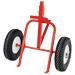 Carro porta bidones miel ruedas neumáticas.