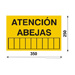 35x25cm Bienen Warnschild