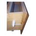 Cazapolen de madera con rejilla extraible.