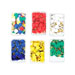 Chinchetas de colores para núcleos fecundación.