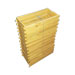 Pacotes de 25 molduras de madeira hoffman langstro
