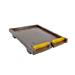 Pavimento o base per alveare dadant senza griglia.