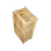 Paks of 25 frames half rise wood layens