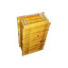 Paks von 25 Quadraten Tercia Wanderung legt Holz