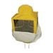 Careta cuadrada normal apicultor.
