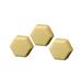Honey and pollen hexagonal soap 100gr.-42ud.