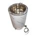 Cuba esterilizadora de cera de 100 litros.