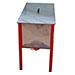 Cubeta desopercular inox 1000x500x380mm-con tapa.