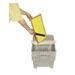 Cuchillo apicultor sierra 24 cm mango plano.