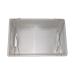 Cubeta plástico desopecular con tapa inoxidable.