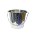 Stainless steel bucket for wax 11 liters.