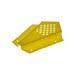 Fuga de abelha amarela de canto.