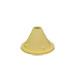 Escape abejas amarillo en cono.