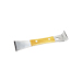 20cm stainless wooden handle spatula or lever