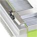 Estampadora  silicona aluminio con ventilador.
